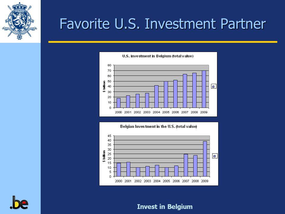 Invest in Belgium Favorite U.S. Investment Partner