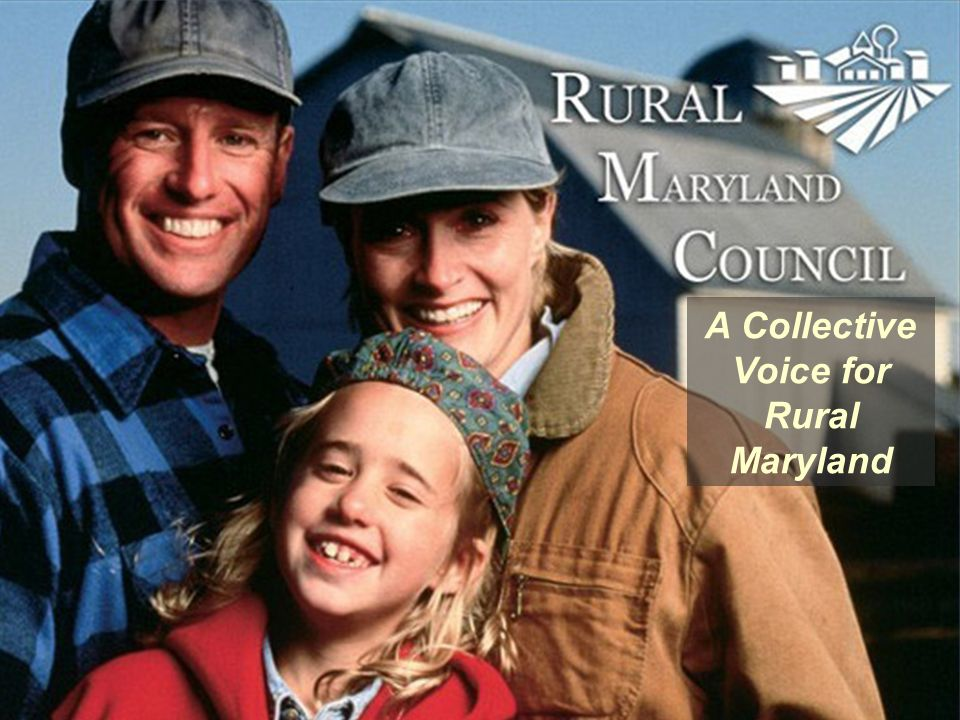 A Collective Voice for Rural Maryland