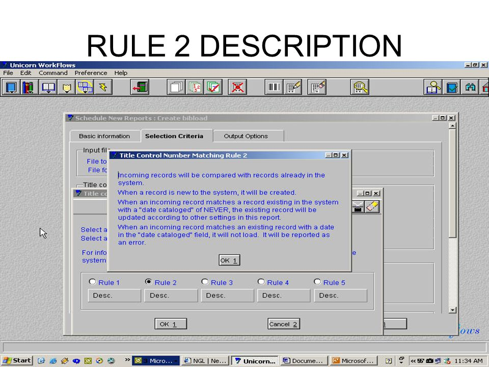 RULE 2 DESCRIPTION