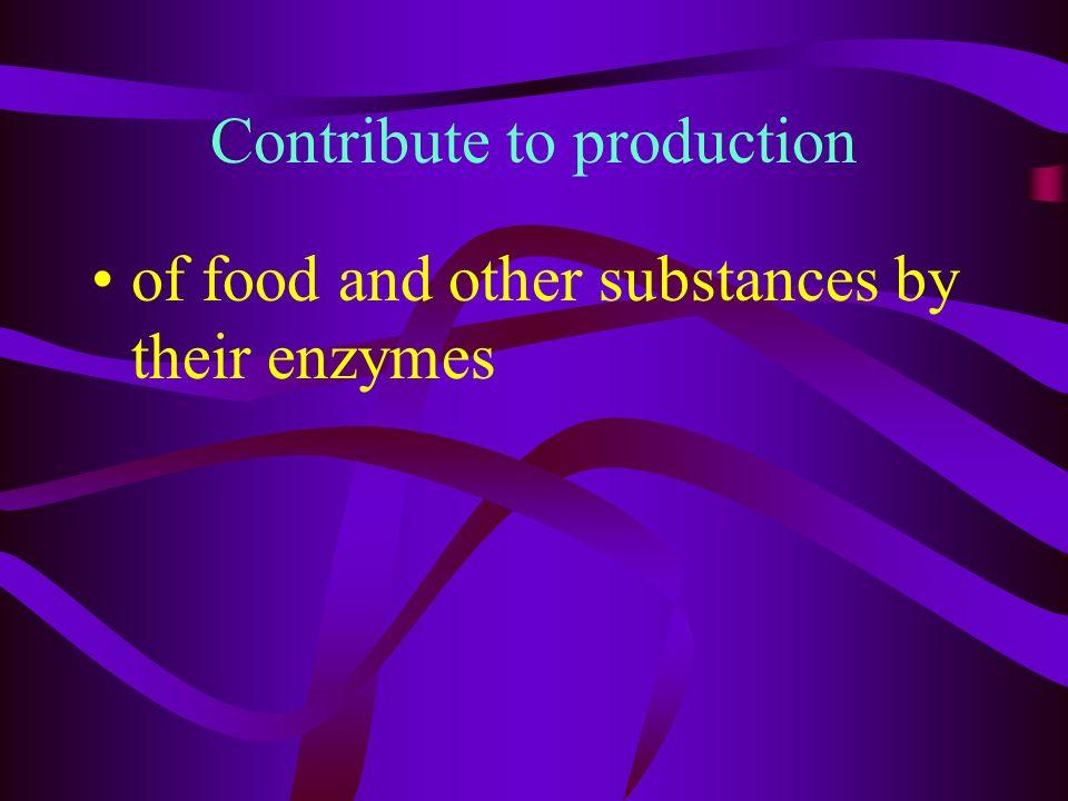 Cheese Making bacteria convert lactose (milk sugar) to lactic acid