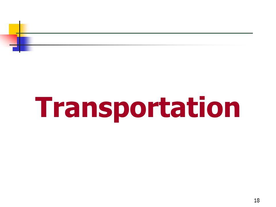 18 Transportation