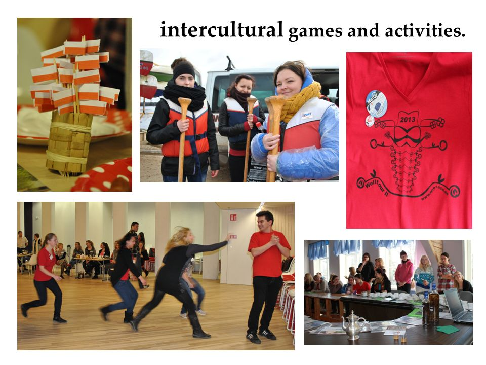 intercultural games and activities.