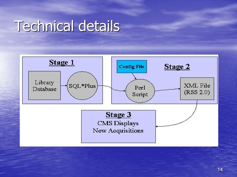 14 Technical details