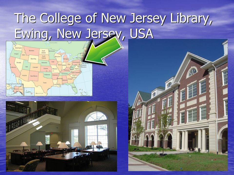 7 The College of New Jersey Library, Ewing, New Jersey, USA