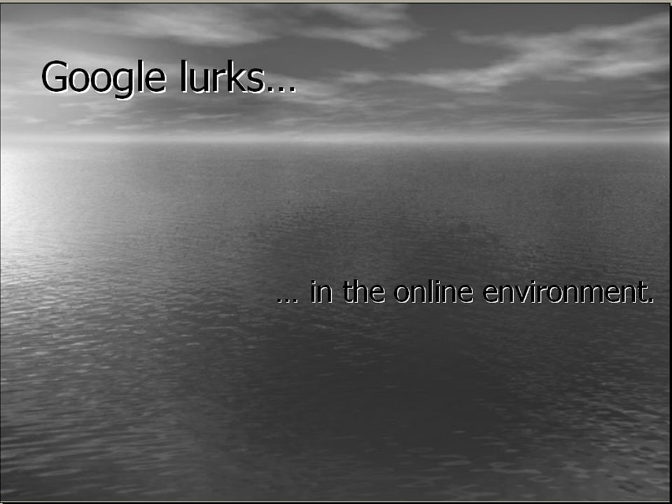 9 Like Google, academic libraries… 1.Can also be available at the point of need 2.