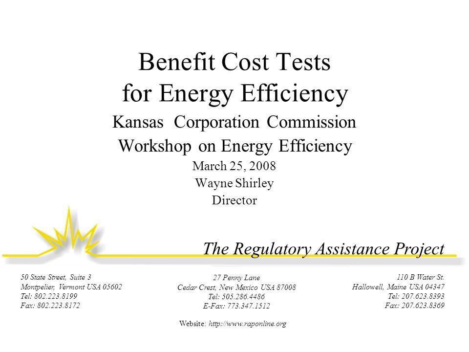 If California Used RIM Test: $s Left On the Table Source: Commissioner Art Rosenfeld, CEC