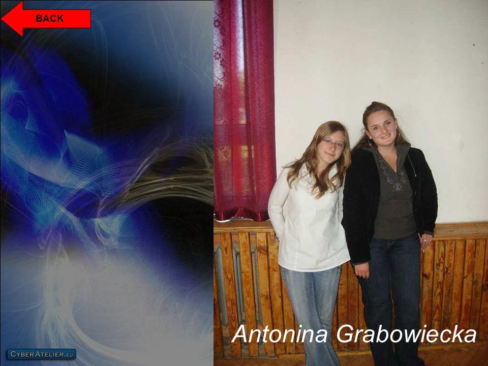 BACK Antonina Grabowiecka