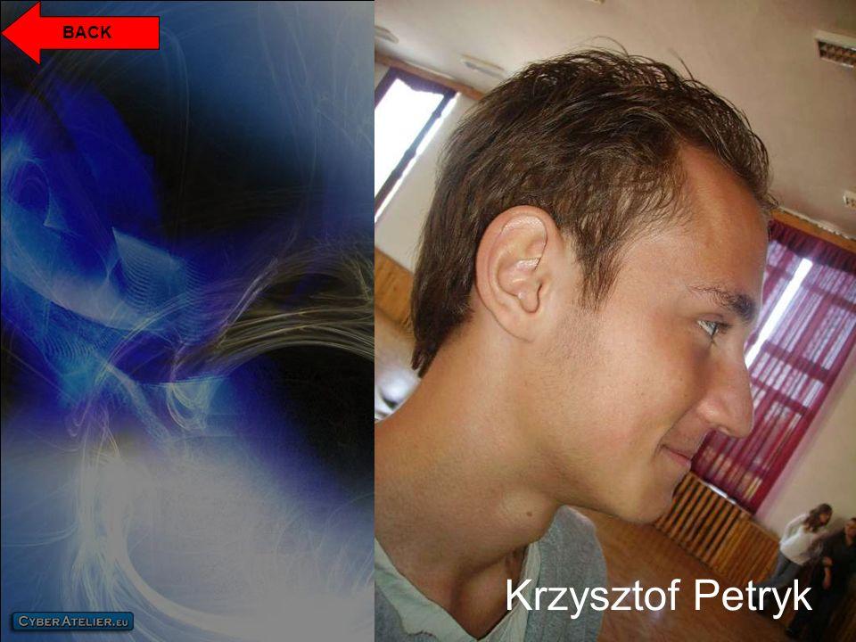 Krzysztof Petryk BACK