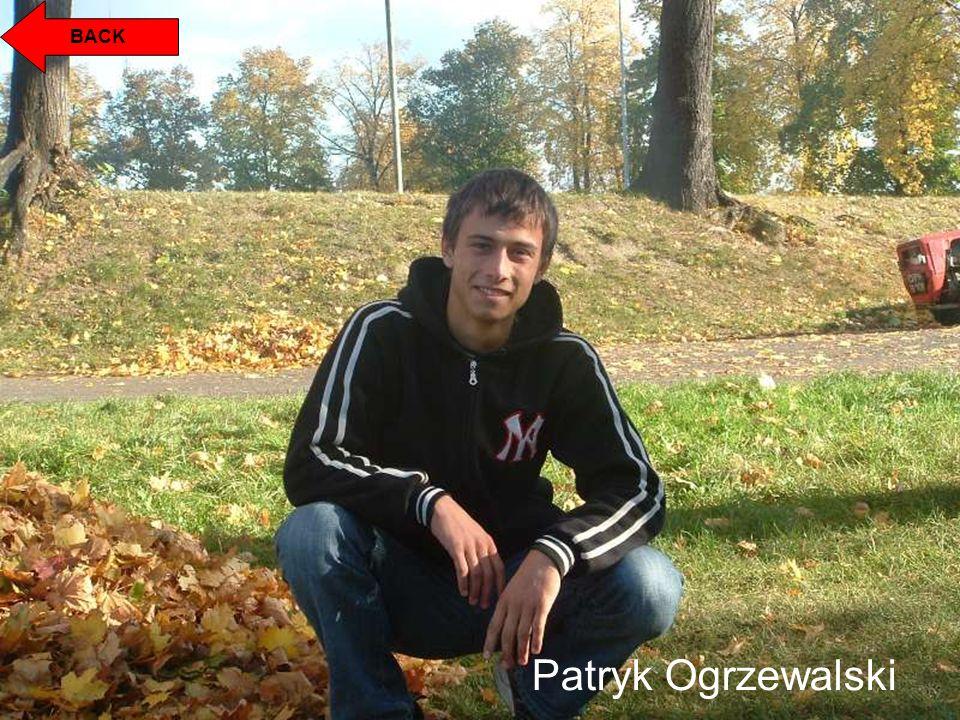 BACK Patryk Ogrzewalski