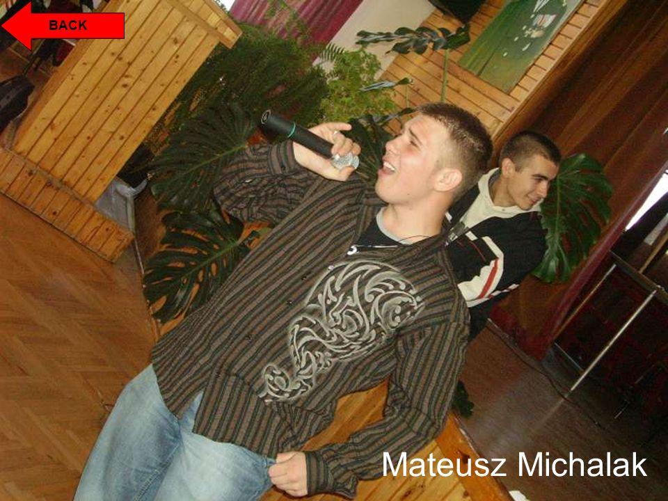 Mateusz Świerszczyński My name is Mateusz.I`m seventeen and I live in Niemodlin.