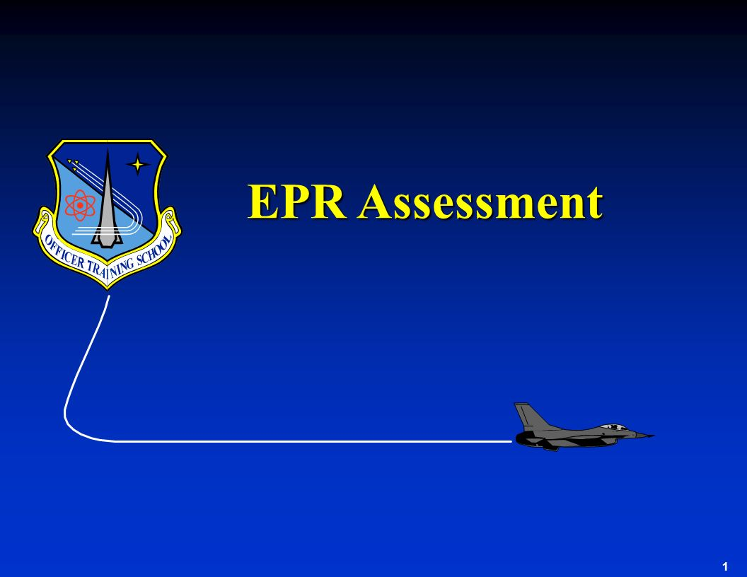 1 EPR Assessment