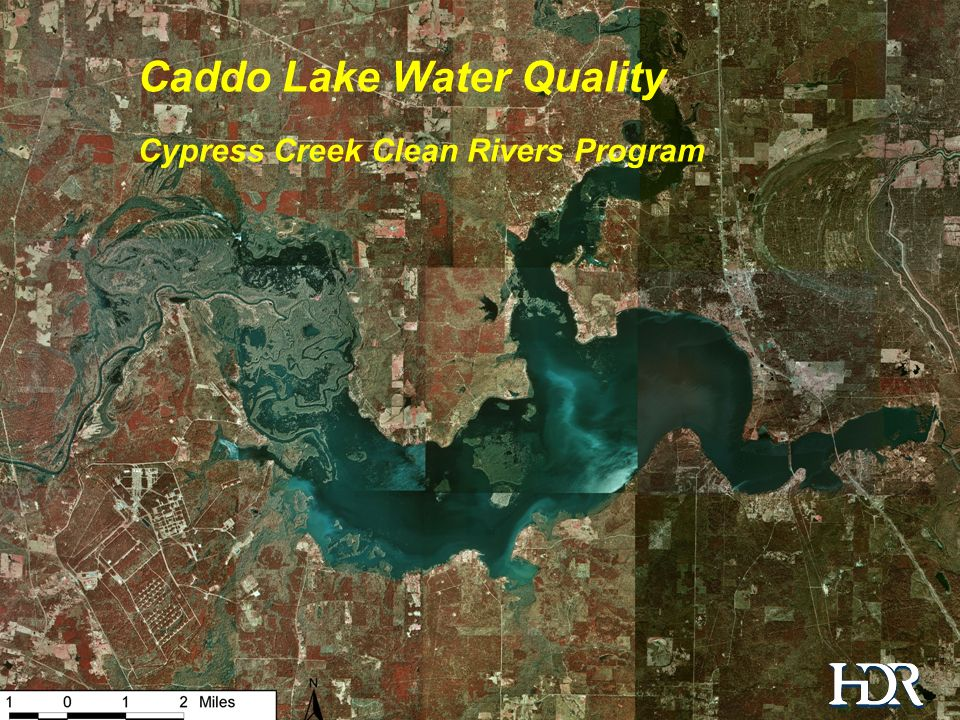 Water Quality in the Caddo Lake Watershed Caddo Lake Water Quality Cypress Creek Clean Rivers Program