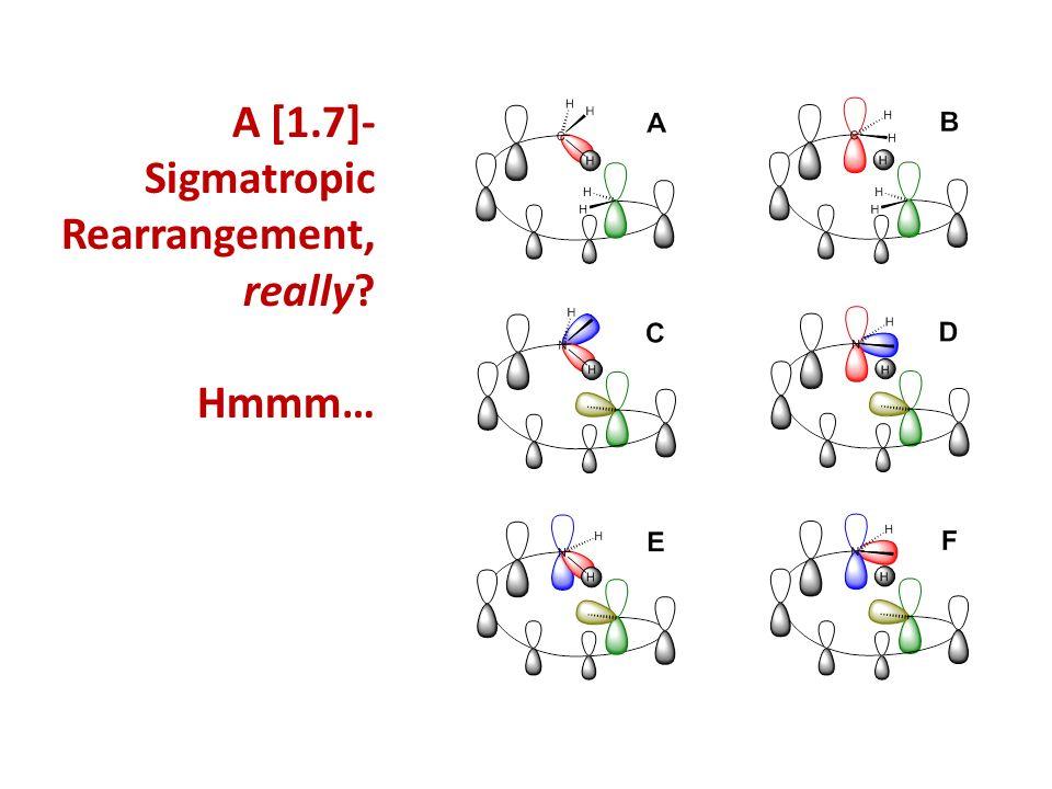 A [1.7]- Sigmatropic Rearrangement, really? Hmmm…