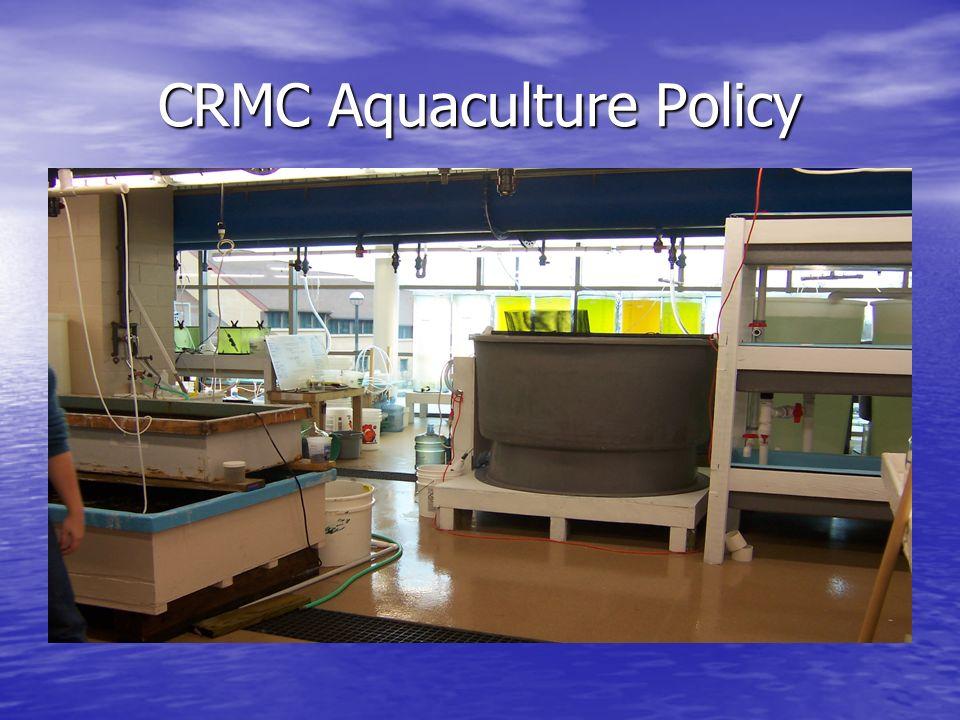 CRMC Aquaculture Policy