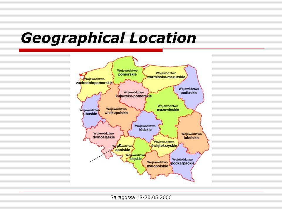 Saragossa Geographical Location