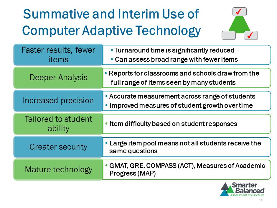 Interim Assessments to Signal Improvement Non-Secure Timing and frequency are locally determined Interim test-builder creates aligned assessments Flex