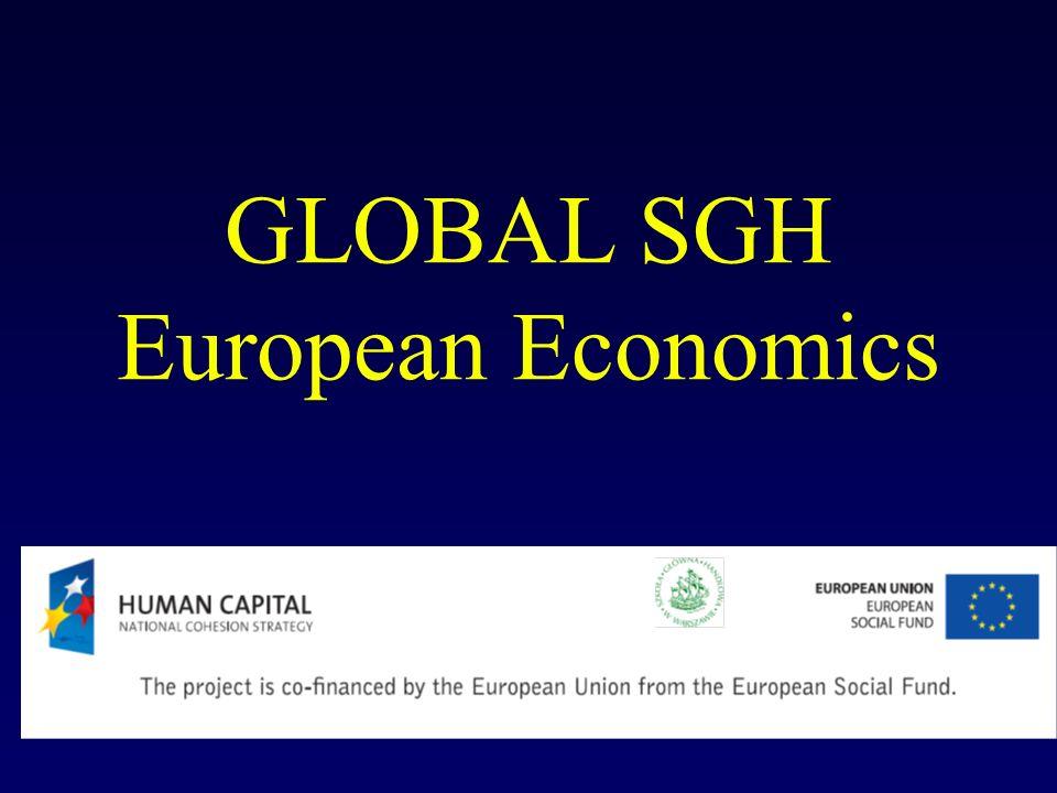 GLOBAL SGH European Economics