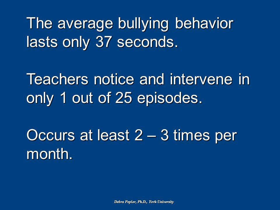 What is Bullying? Bullying is any ongoing physical or Verbal mistreatment where there is: an imbalance of power and the victim (target) is exposed rep
