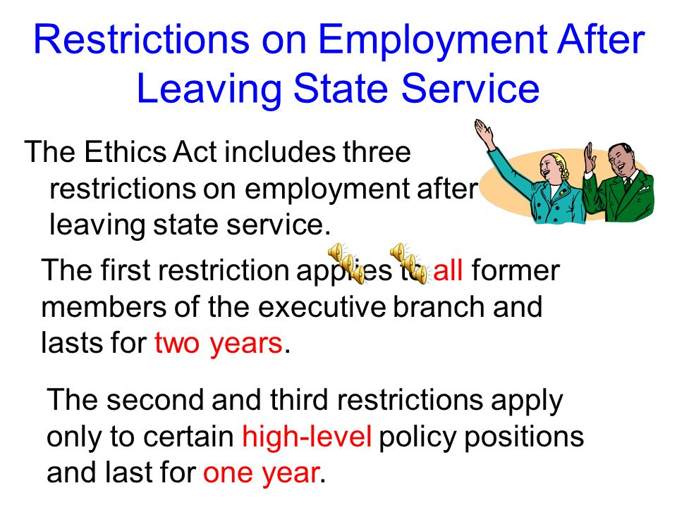 Employment After Leaving State Service