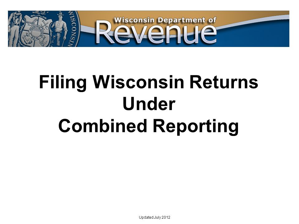 92 Each members amounts in Part I of Form 4M must add up to the total on each corresponding line of the combined Form 4 If the group chooses to include a nonmember corporation in the combined return for purposes of reporting that corporations separate entity items, that corporation must have a Form 4M also For combined groups that are 100% Wisconsin corporations (i.e.