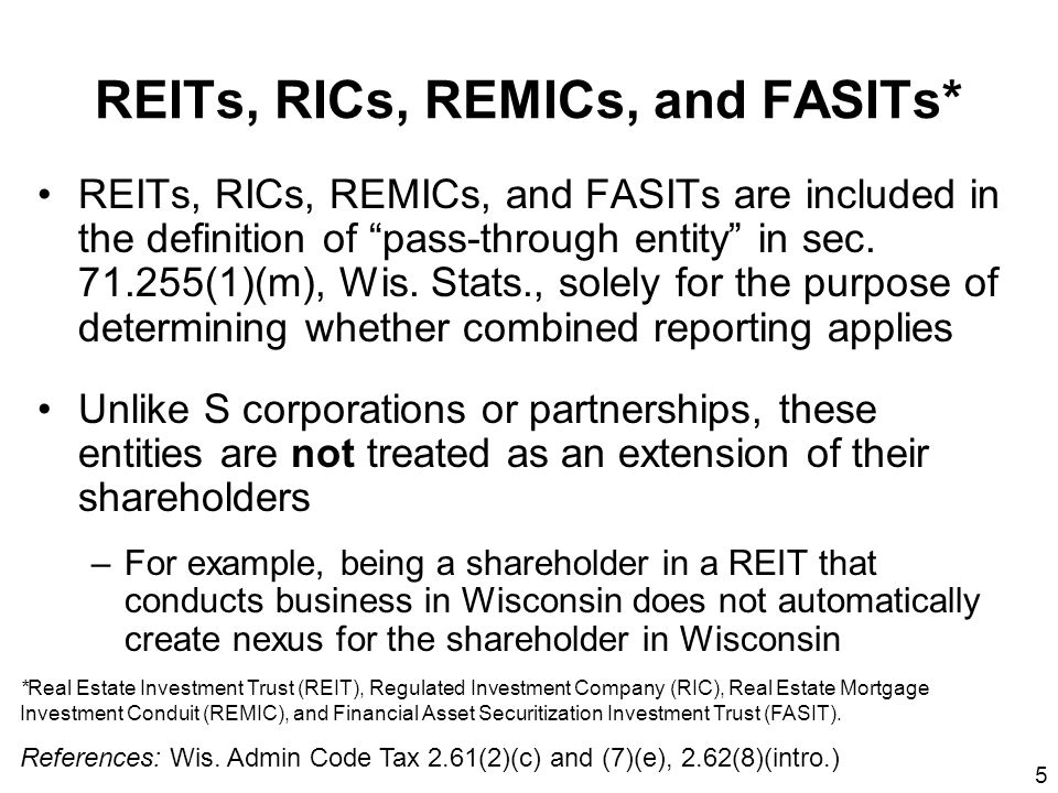 56 Use the federal basis of assets in this computation, since differences between federal and Wisconsin basis are accounted for later in the Wisconsin additions and subtractions (Wis.