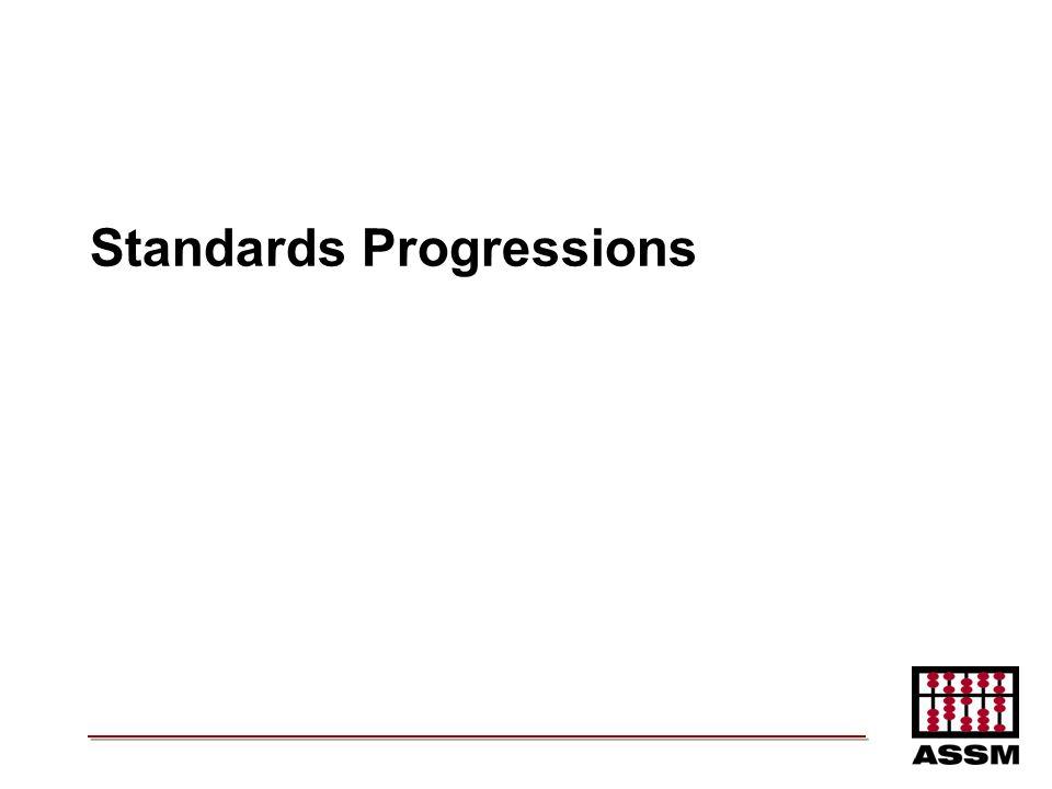 Standards Progressions