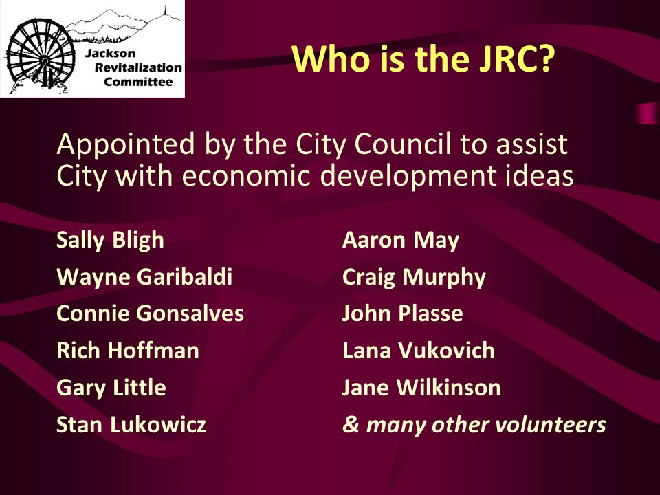 Who is the JRC.