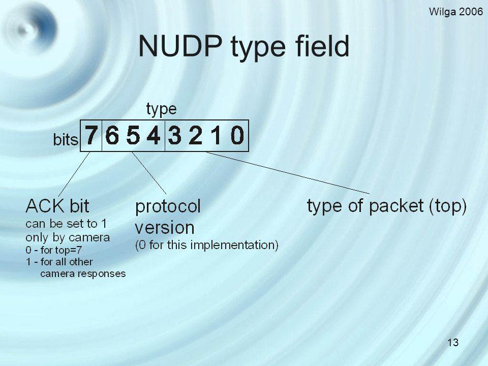 Wilga 2006 13 NUDP type field