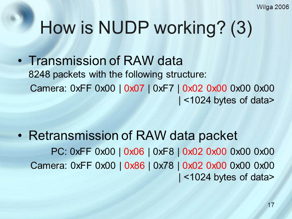 Wilga 2006 17 How is NUDP working.