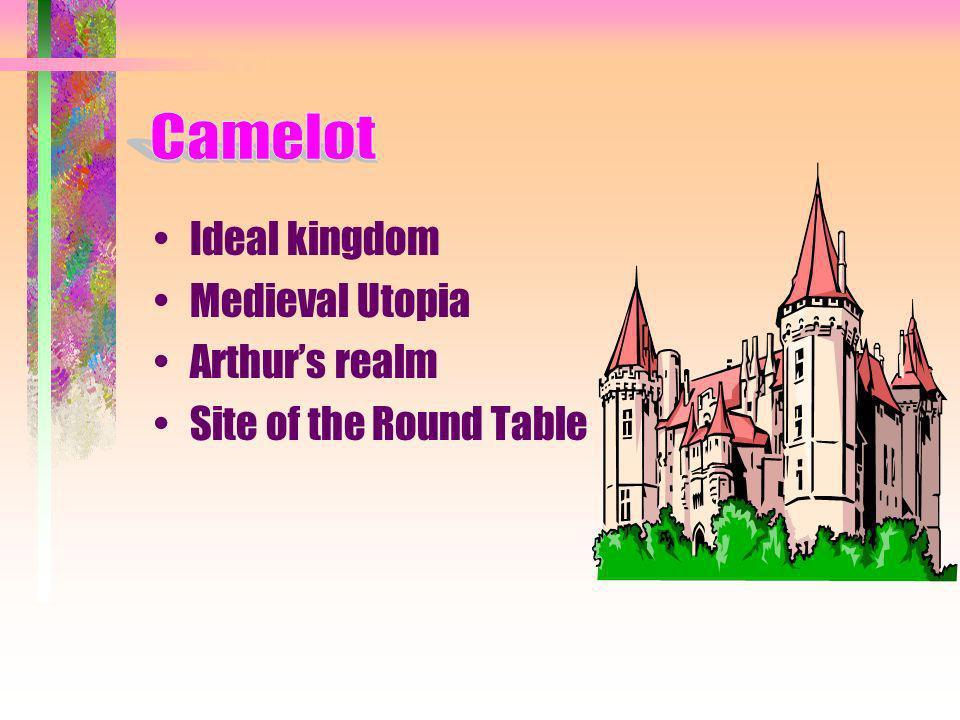 Camelot Arthur Merlin Guinevere Lancelot Knights Overview