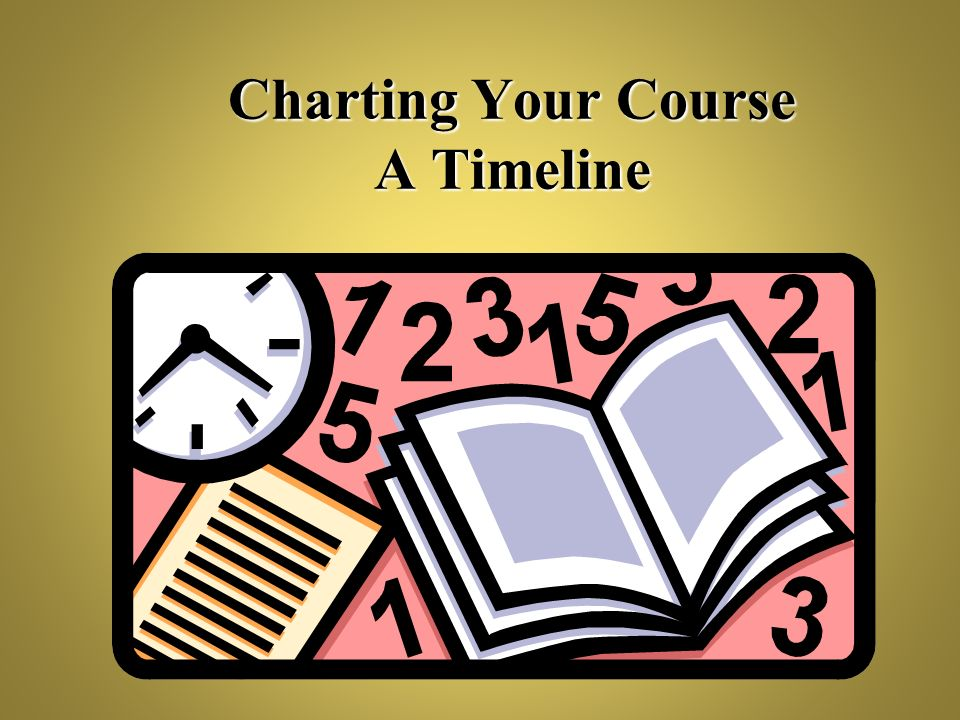Charting Your Course A Timeline