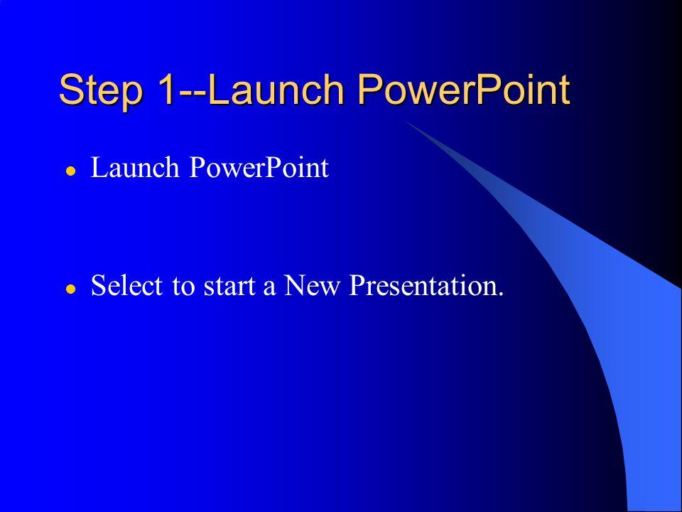 PowerPoint: The Basics