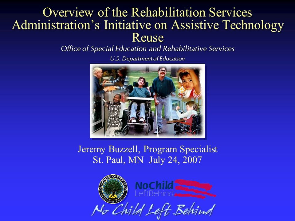Office of Special Education and Rehabilitative Services U.S.