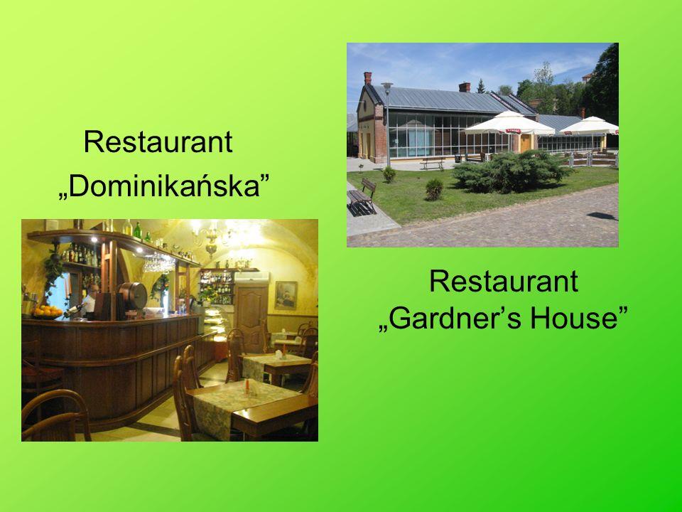 Restaurant Gardners House Restaurant Dominikańska