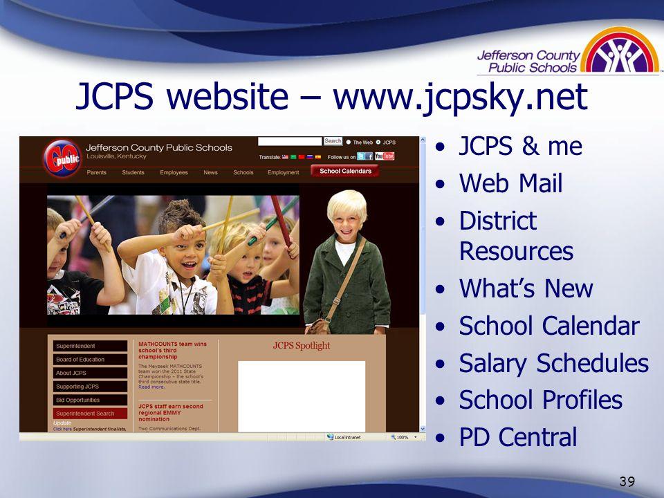 38 JCPS Publications