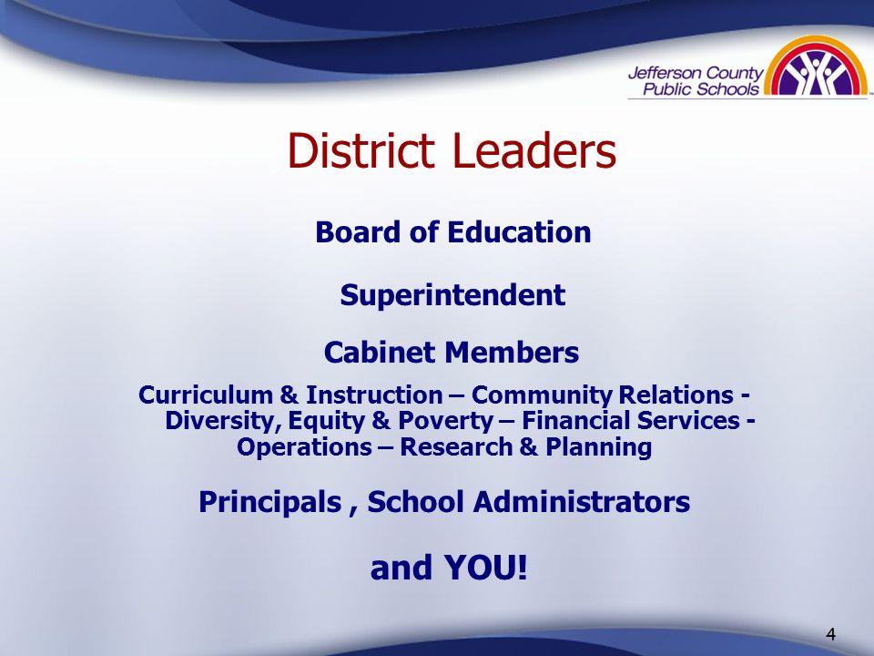 3 The Board of Education Standing (l to r): Debbie Wesslund, Dist 3 Joseph Hardesty, Dist 4 Stephen Imhoff, Vice Chair, Dist 2 Larry Hujo, Dist 7 Seat