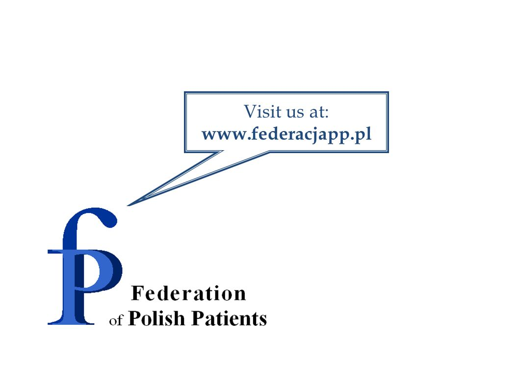 Visit us at: www.federacjapp.pl