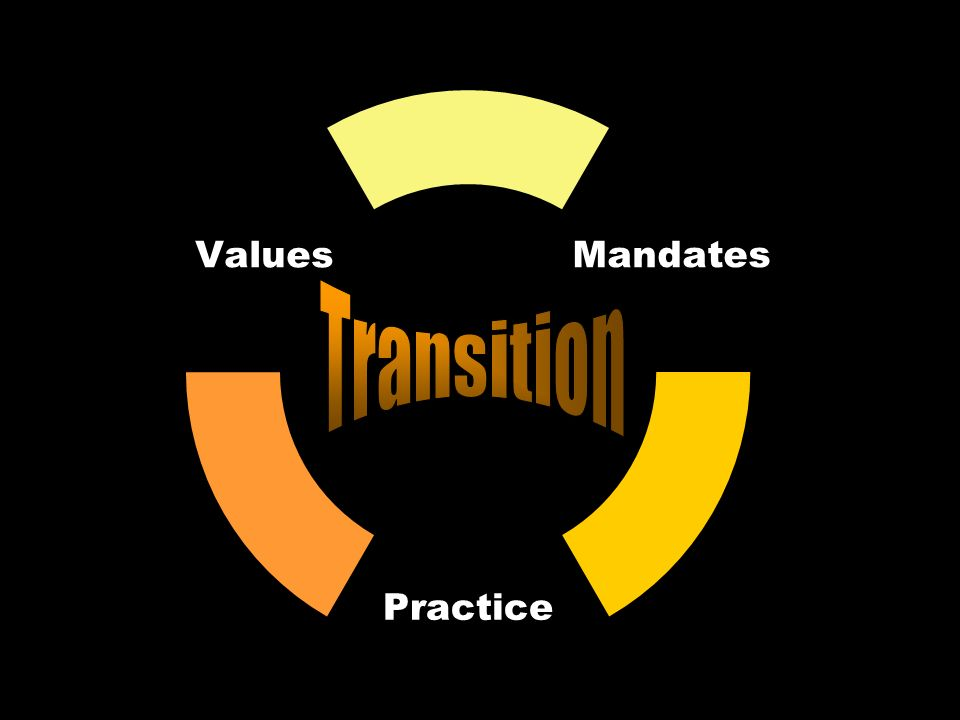Mandates Practice Values