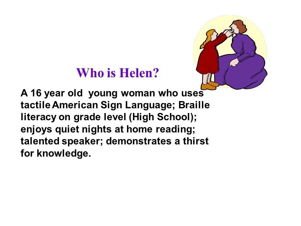Who is Helen.