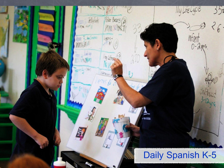 Daily Spanish K-5