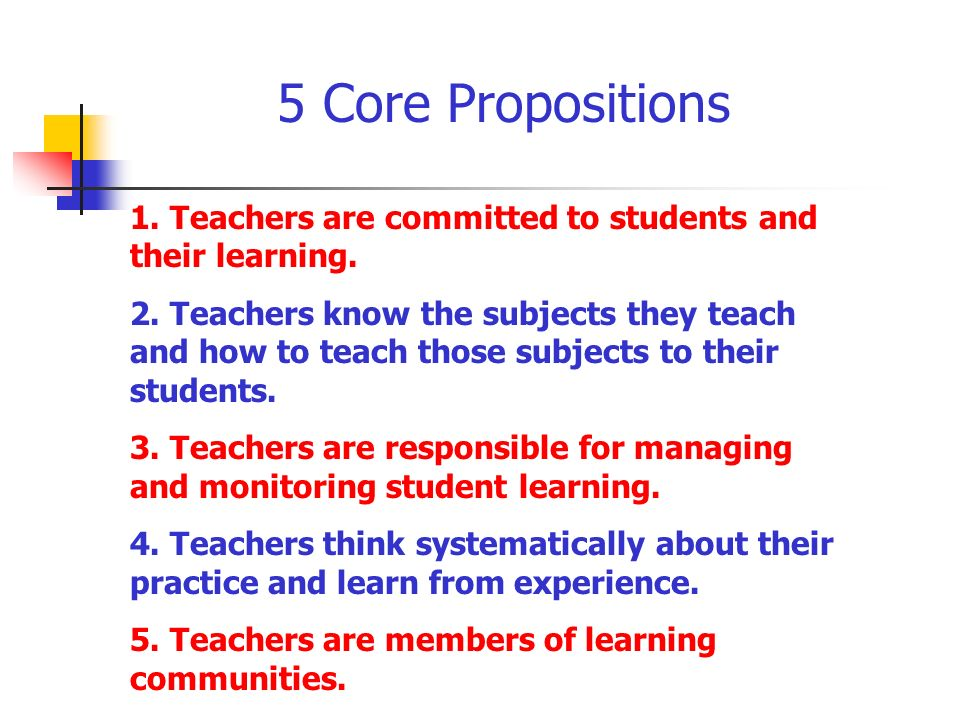 1. Teachers are committed to students and their learning.