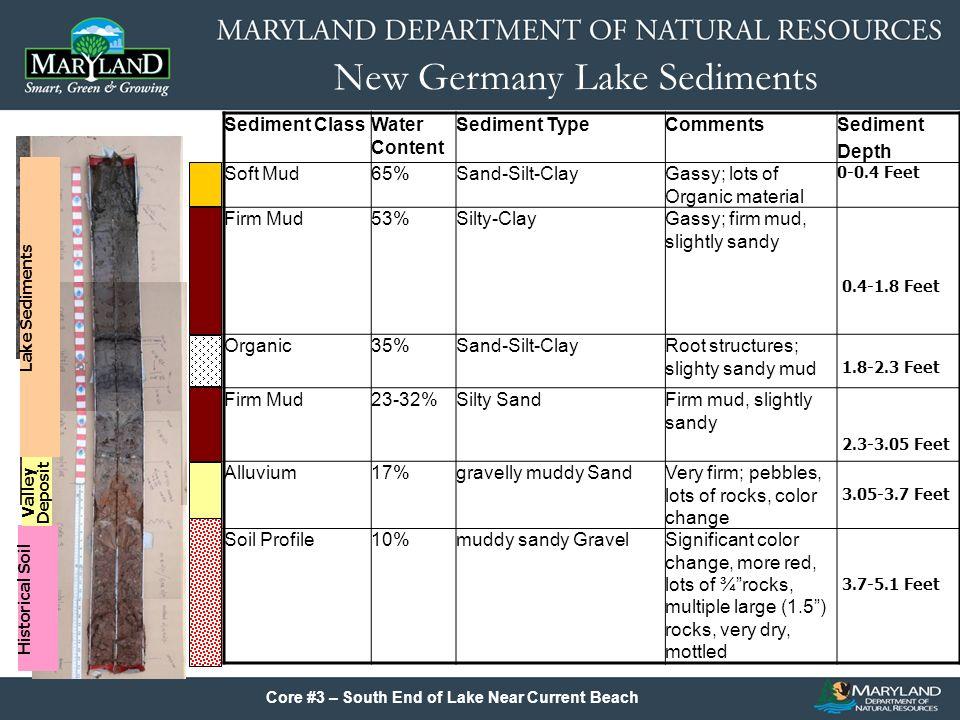 New Germany Lake Sediments SAV Control Options: –Aquatic Herbicides –Biological Control Agents –Mechanical Harvesting –Winter Draw Down (Root Freezing)