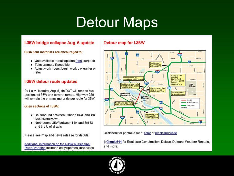 Detour Maps