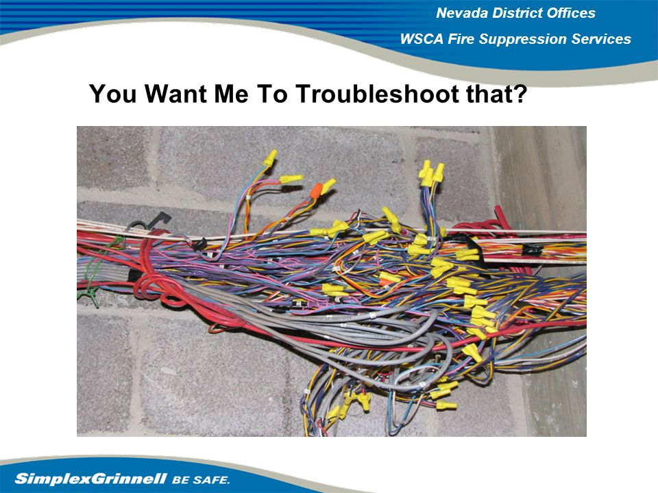 2007 Western Operations Roundup 2007 Western Operations Nevada District Offices WSCA Fire Suppression Services You Want Me To Troubleshoot that?