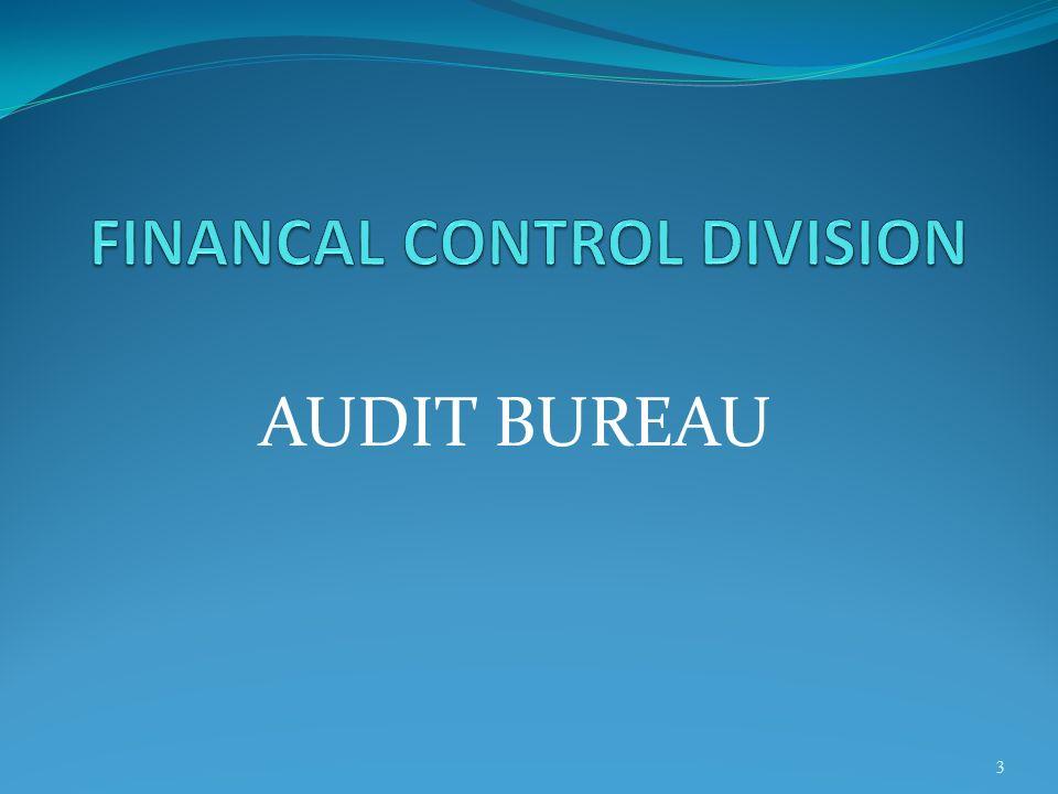 FINANCIAL MANAGEMENT BUREAU 14