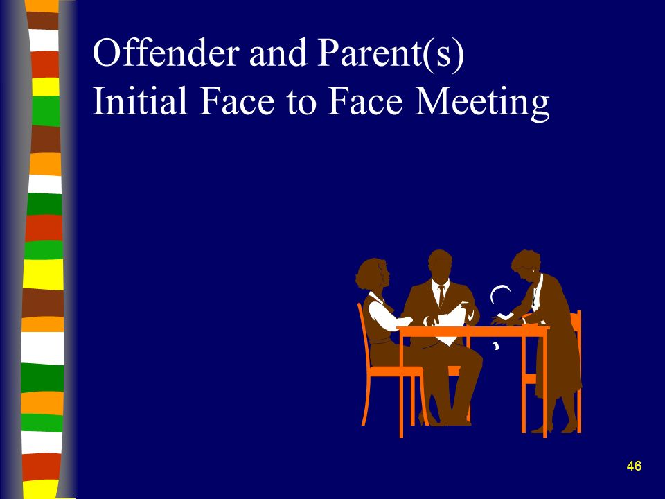 46 Offender and Parent(s) Initial Face to Face Meeting