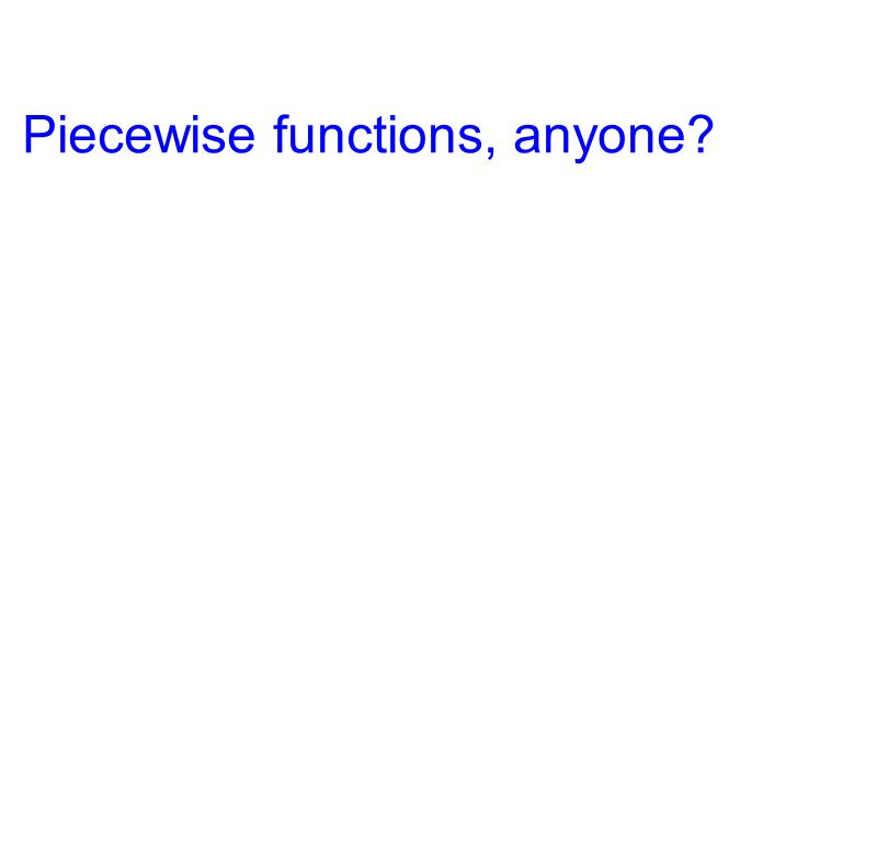Piecewise functions, anyone