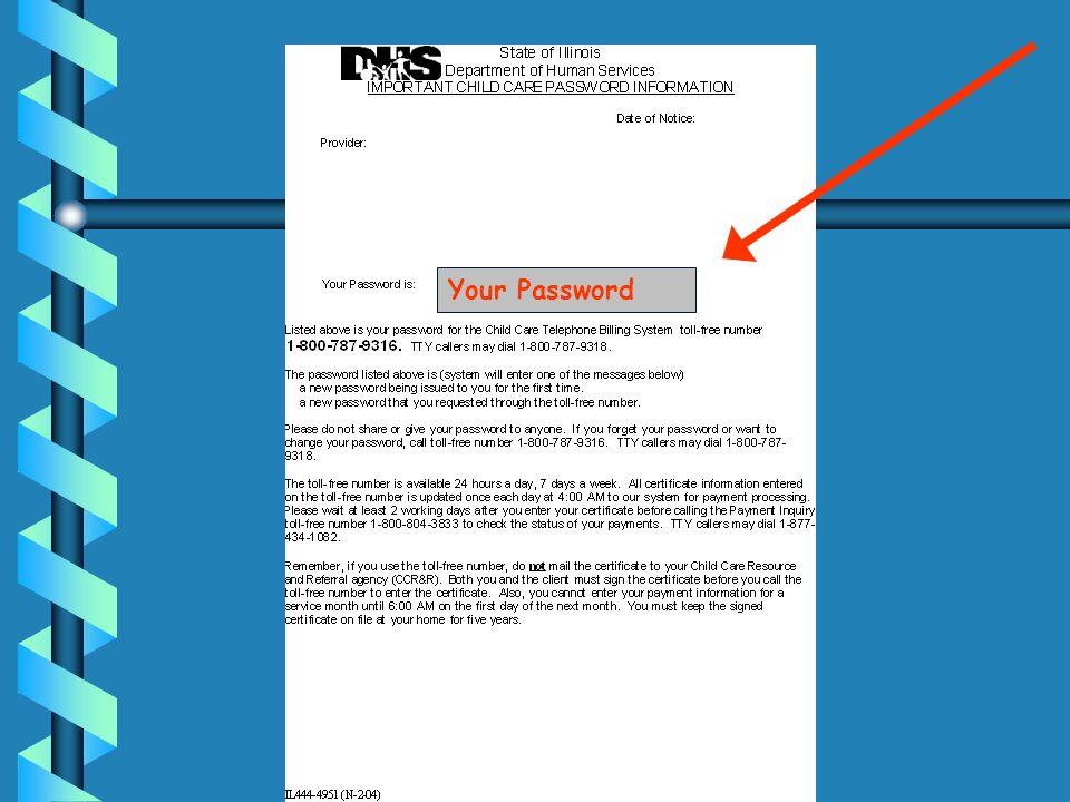 Your Password