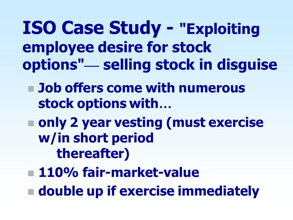 ISO Case Study -