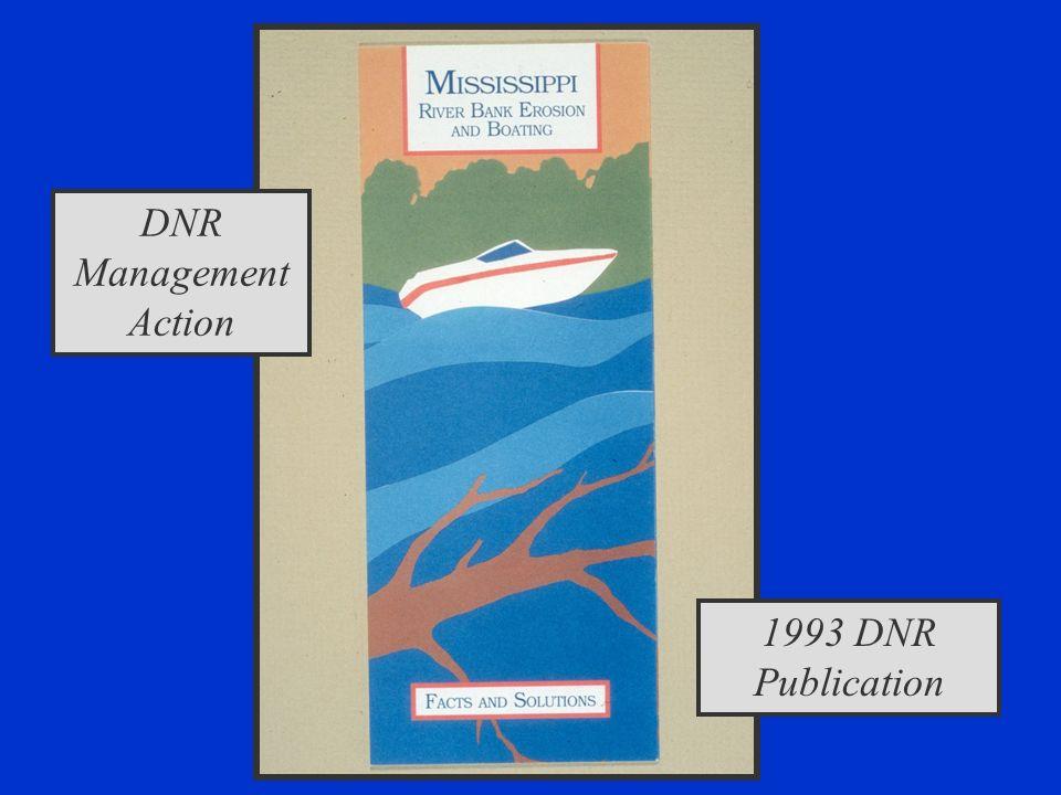 1993 DNR Publication DNR Management Action